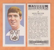 Derby County Kevin Hector England 38